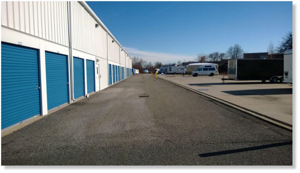 outdoor storage space