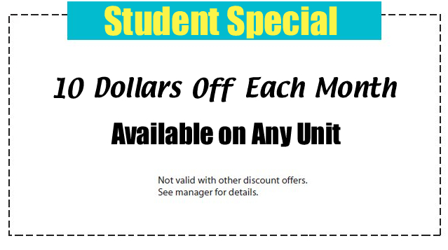 student special offer